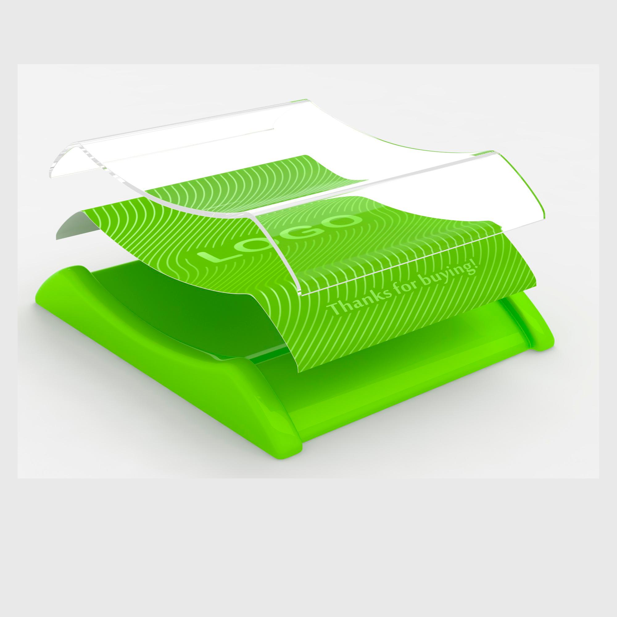 Plastic cash tray Light Green